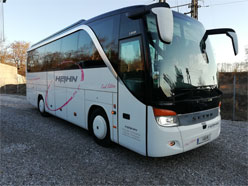 Setra coach for hire
