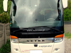 A luxury coach for rent