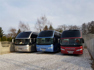 Coaches for rent Warsaw